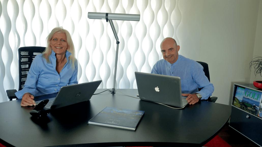 Helpdesk aktivWEB mit Silke Schwager und Claudio Cittarini
